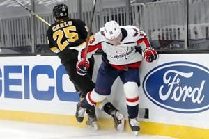 Bruins respond to head shot with 5-1 victory over Capitals