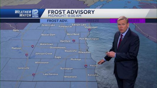 Weather: Frosty Night Ahead