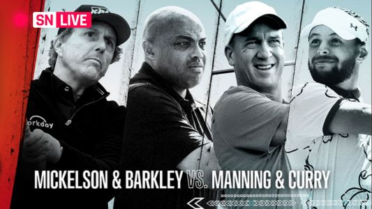 The Match 3 live updates & highlights from Charles Barkley-Phil Mickelson vs. Stephen Curry-Peyton Manning golf match