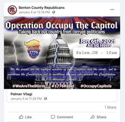 The Republican Party Has Distanced Itself From The Capitol Riot. But Local GOP Officials Fueled Supporters' Rage Ahead of Jan. 6