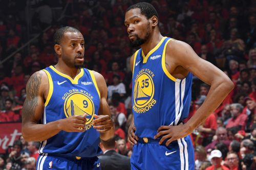 Andre Iguodala has harsh words for Knicks' Kevin Durant push