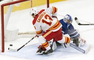 Gaudreau scores in OT as Flames beat Maple Leafs 3-2