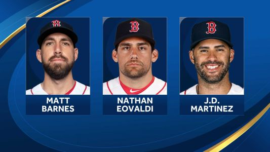 3 more Red Sox players selected for MLB All-Star Game