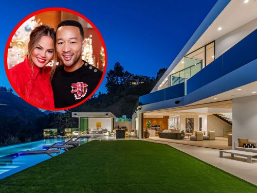 Chrissy Teigen and John Legend scooped up a new Beverly Hills mansion for $17.5 million just a month after putting their old one on the market - take a look inside