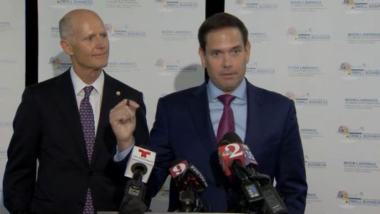 Rubio, Scott rip Democrats when asked if Trump tweet was racist