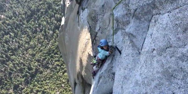 A fearless 10-year-old girl scaled Yosemite's most fearsome peak in a time that puts some adults to shame