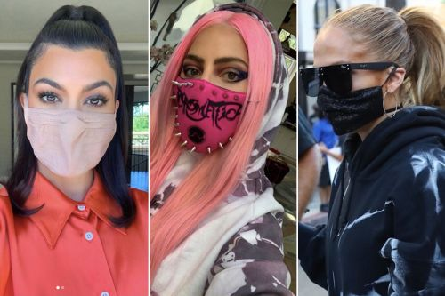 Celebrities swear by these stylish face masks to stay safe