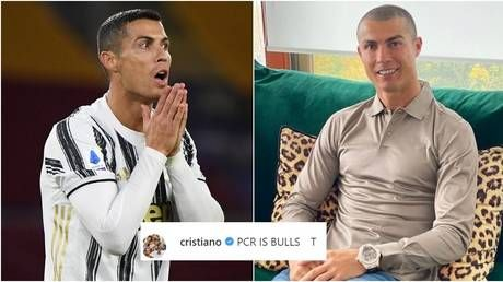 'BULLSH*T': Cristiano Ronaldo RAGES at Covid test after he is ruled out of Champions League clash with Messi