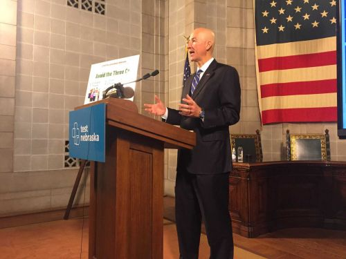 Gov. Ricketts to provide COVID-19 vaccination update Wednesday morning