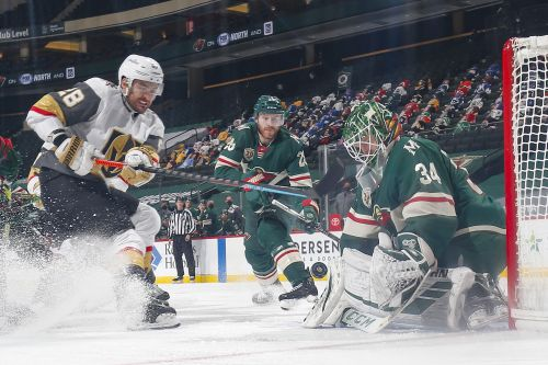 Kahkonen Gets First Shutout As Wild Beat Golden Knights 2-0