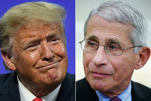 Trump on Twitter piles on Anthony Fauci over first pitch, COVID-19 response