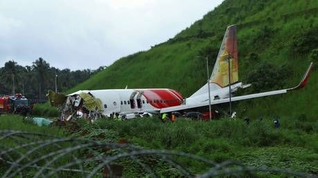 Flight recorders recovered from Indian passenger plane crash site