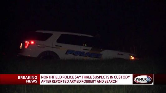Three suspects in custody after reported armed robbery in Northfield