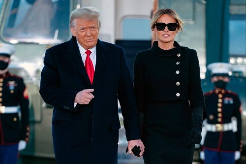 Trump, Melania got COVID-19 vaccine before leaving White House