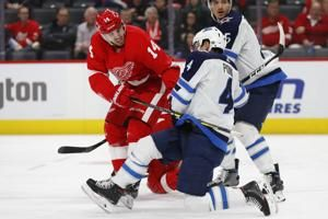 Fabbri scores 2, Red Wings snap 12-game winless streak