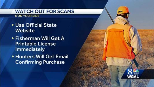 Pa. hunters, fishers warned about online license scams