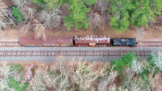Conductor of moving train hit by shot from pellet gun in Wareham