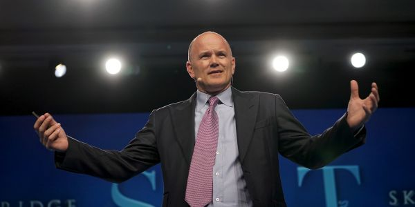 Billionaire investor Mike Novogratz says the record-breaking rally in crypto shows a lack of faith in the Fed - and cites central-bank uncertainty as a reason for bitcoin's latest surge
