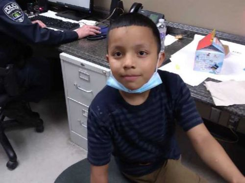 Roeland Park police say boy found alone at Walmart reunited with family