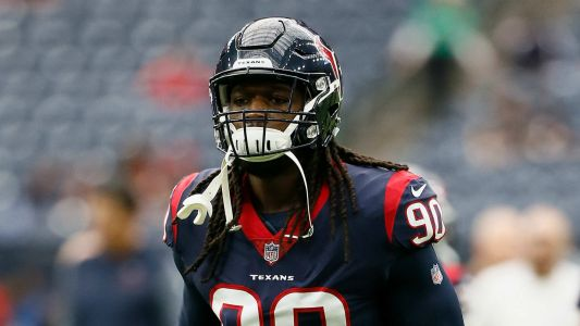 Jadeveon Clowney Reportedly out vs. Titans with Back and Elbow Injuries