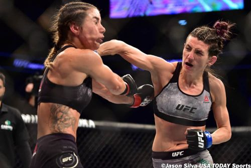 Marina Rodriguez: Amanda Ribas striking with me would be risk at UFC 257