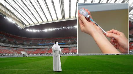World Cup hosts Qatar announce fans won't be permitted to attend games 'without receiving a full Covid vaccination'