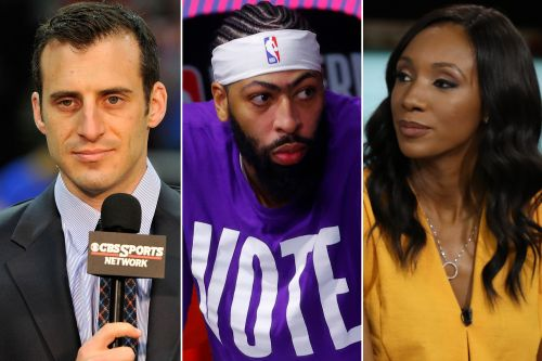 ESPN's Maria Taylor fires back at Doug Gottlieb over Anthony Davis 'mistake'