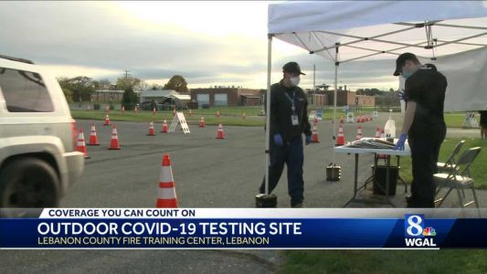 Outdoor COVID-19 testing facility opens in Lebanon County
