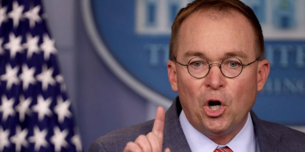 Mick Mulvaney tries to claw back his confirmation - made on live TV - that Trump threatened to withhold aid to Ukraine to secure political dirt on Democrats