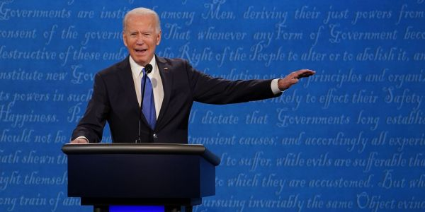 Biden vows in final presidential debate to 'shut down the virus, not the country'