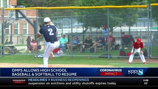 Play ball! DSM schools will participate in baseball & softball