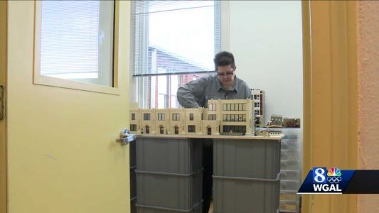 Berks County Lego artist's work on display at Reading museum