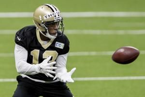 Saints rule out wide receivers Thomas, Callaway vs Bears