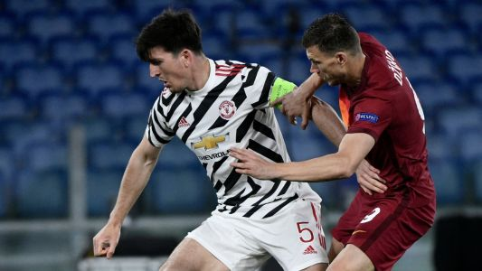 'It was like basketball!' - Maguire admits Man Utd were 'edgy' during second leg defeat to Roma