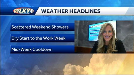 Chance of Weekend Showers