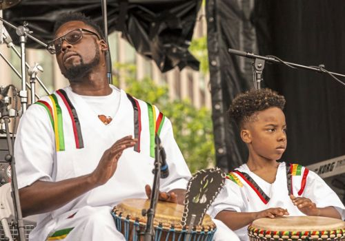 Juneteenth celebrations kick off with a side order of history