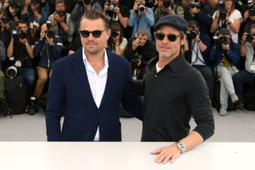 Brad Pitt and Leonardo DiCaprio Living It Up at Cannes Should Be Studied in Film Class