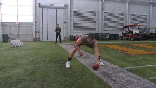 Cyclones long snapper answers call to the combine