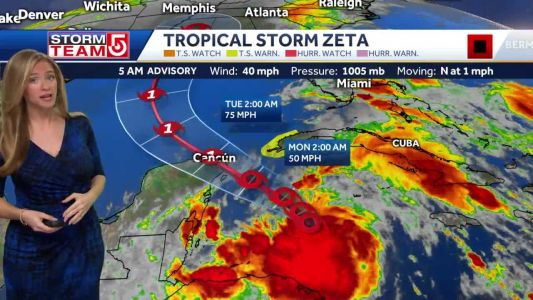 Video- Trending Cooler And Tracking The Tropics