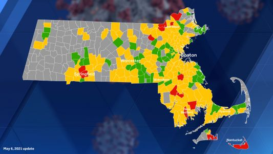 Why some Mass. towns remain on COVID high-risk transmission list