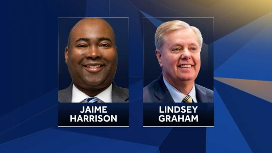 Jamie Harrison votes absentee, Lindsey Graham attends 'Get out the vote' rally in Upstate