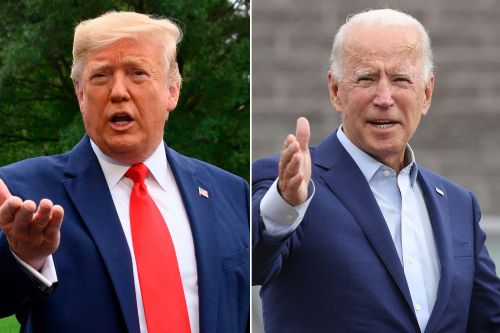 Trump rips Biden over alleged teleprompter use in James Corden interview