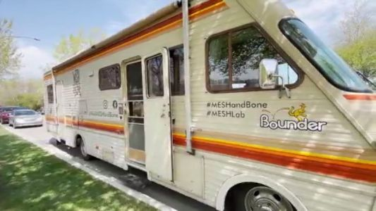 What is Mesha & Bone and why do they have an RV?