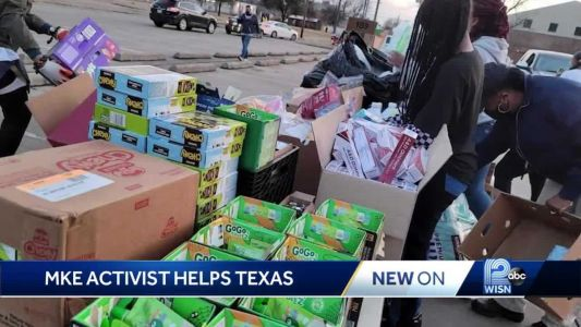 Milwaukee volunteers travel to Texas to help storm victims