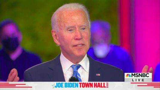 Joe Biden says he 'wasn't surprised' when Trump got sick with COVID-19, and warned that 200,000 more Americans will die by 2021 if authorities don't put in stricter rules