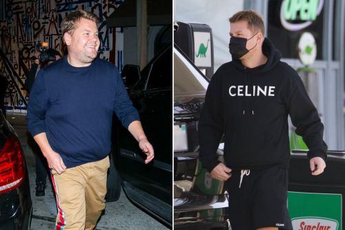 James Corden shows off slim physique after Weight Watchers deal