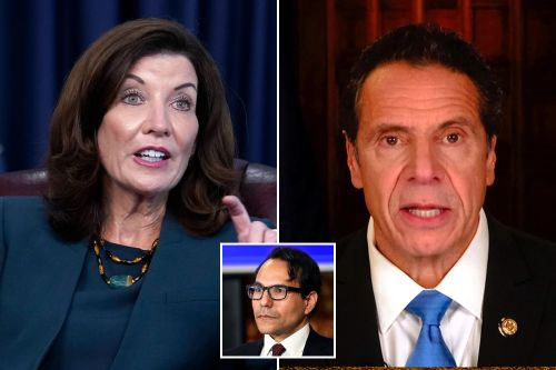 She can't quit him: Gov. Hochul keeps Cuomo hire Mujica as budget director