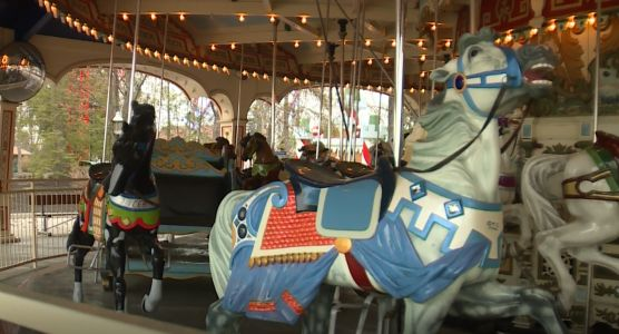 Kings Island's oldest ride, the Grand Carousel, turns 95