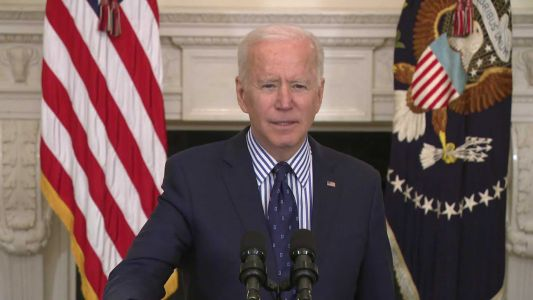 President Biden says COVID-19 stimulus plan means $1,400 checks being sent this month