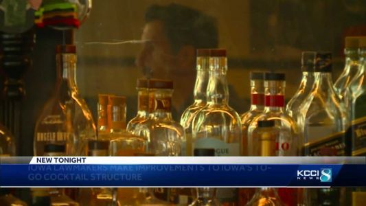 Iowa lawmakers pass improvements for to-go cocktail rules